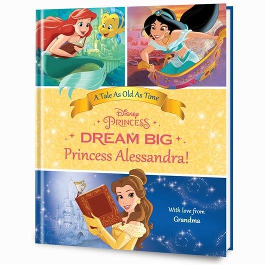 Dream Big Princess Belle Edition personalized book