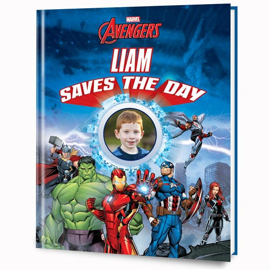 Marvel's Your Child Saves The Day personalized book