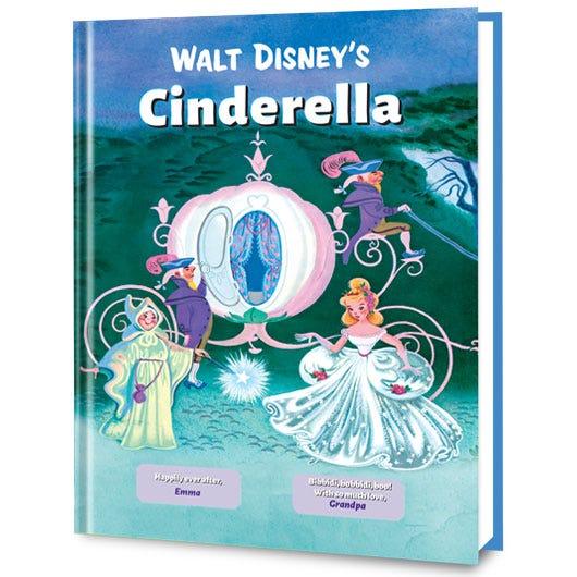 Cinderella personalized book