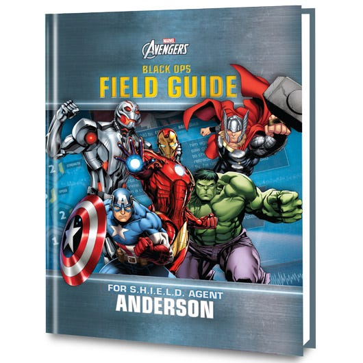 Marvel's Black Ops personalized book