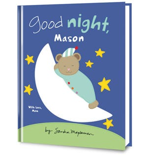 Good Night To You Personalized Book