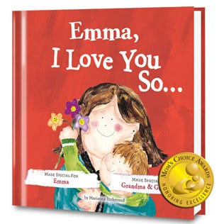 I Love You So Personalized Book