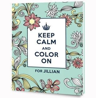 Personalized Adult Coloring Books