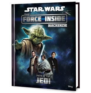 Star Wars: The Force Inside Personalized Book