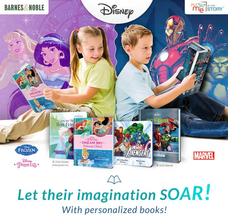 Let their imagination soar!