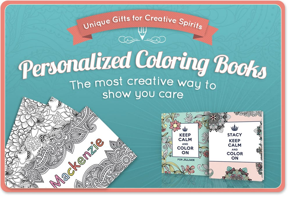 Get Free Personalized Coloring Page