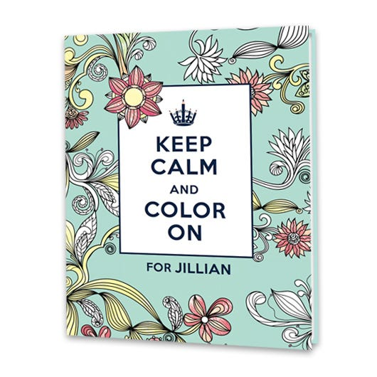Keep Calm Color On
