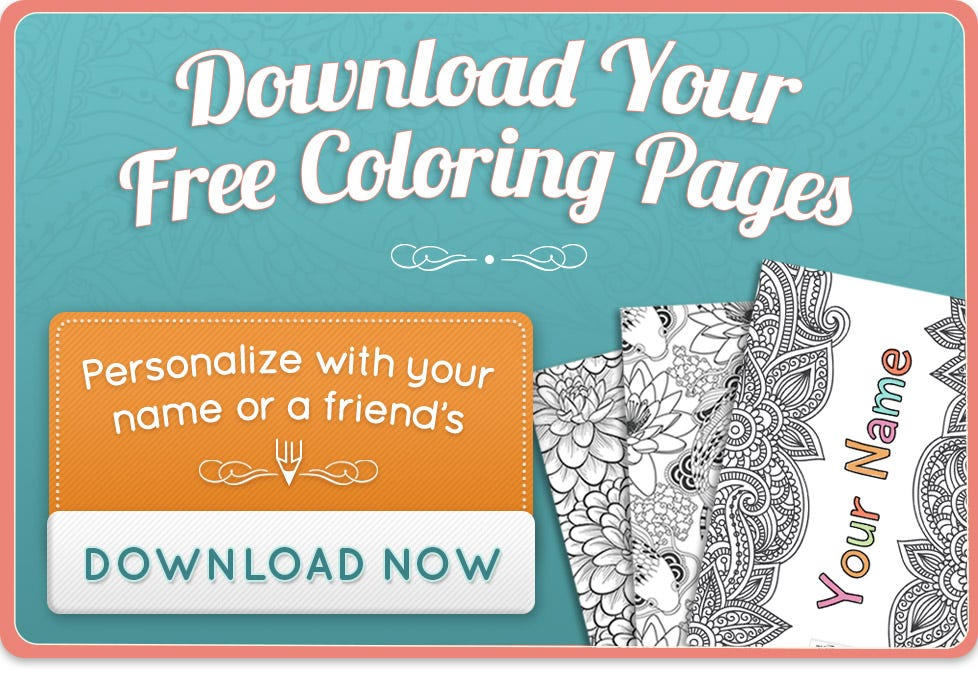Personalized Coloring Book - Color now!