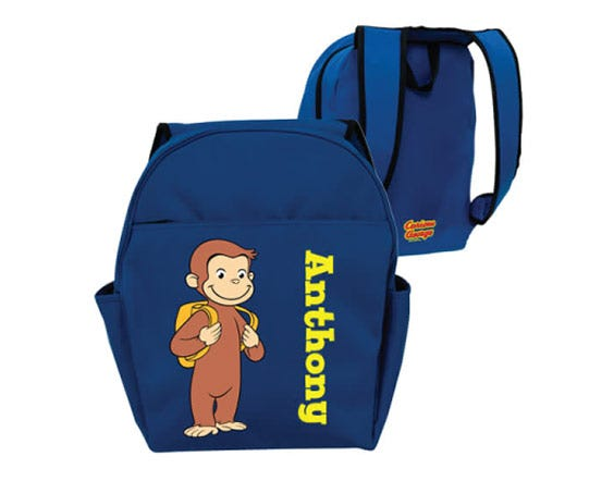 Curious George Backpack