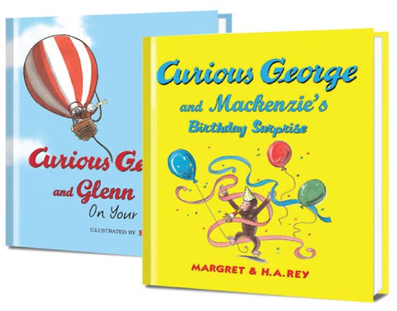 Curious George books