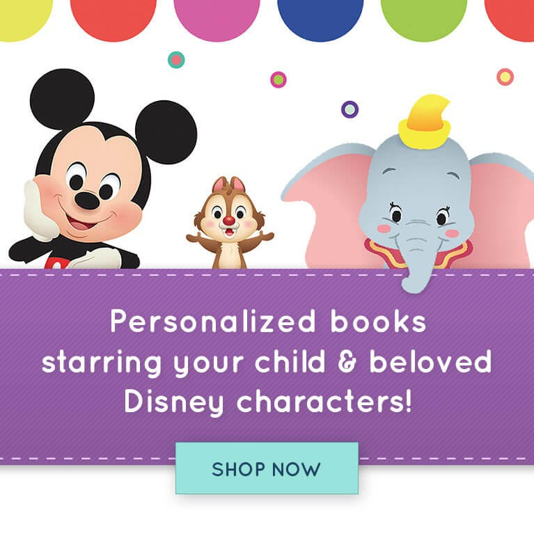 Personalized books starring your child & beloved Disney characters!