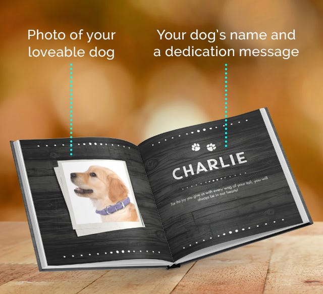 Personalize Your Dog Book!