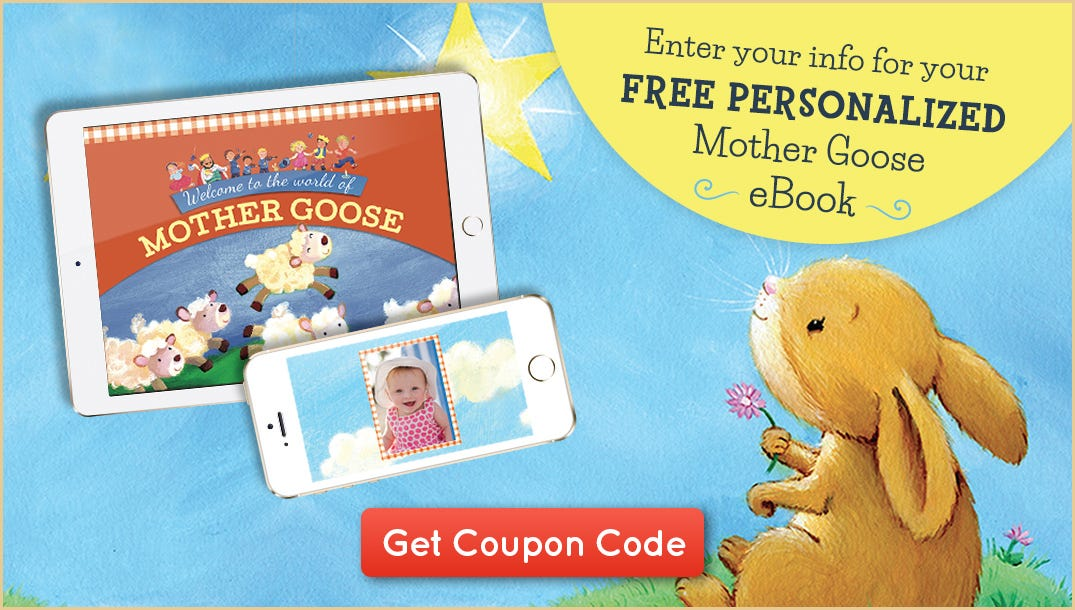 Enter your information for your FREE My First Mother Goose Treasury eBook