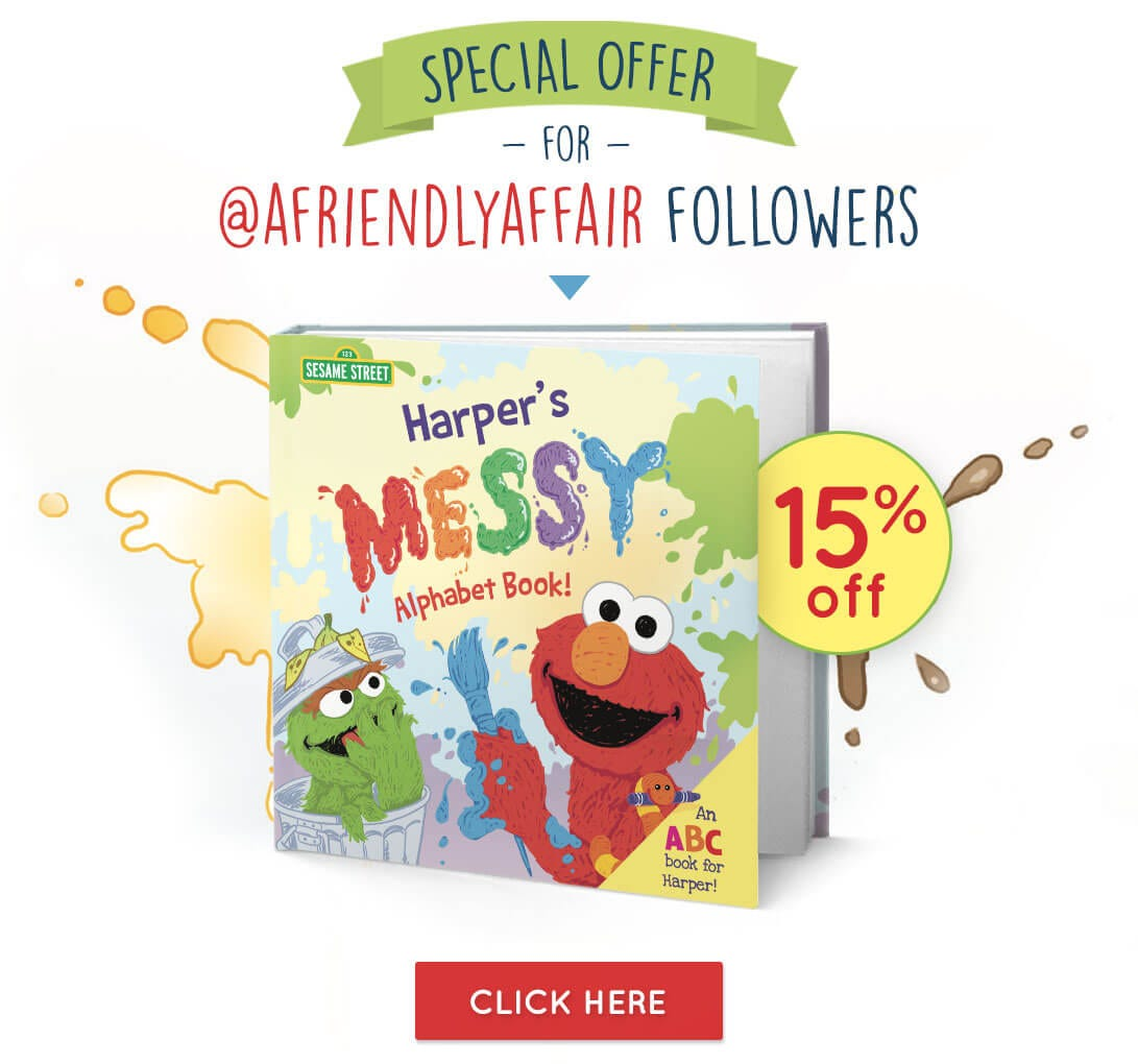 SPECIAL OFFER - 15% Off on Messy Alphabet