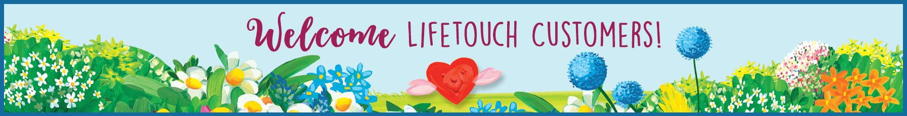 Welcome Lifetouch Customers!