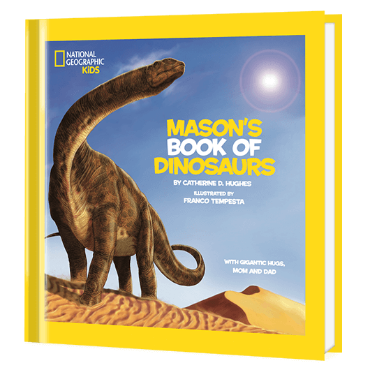 National Geographic Little Kids Book of Dinosaurs