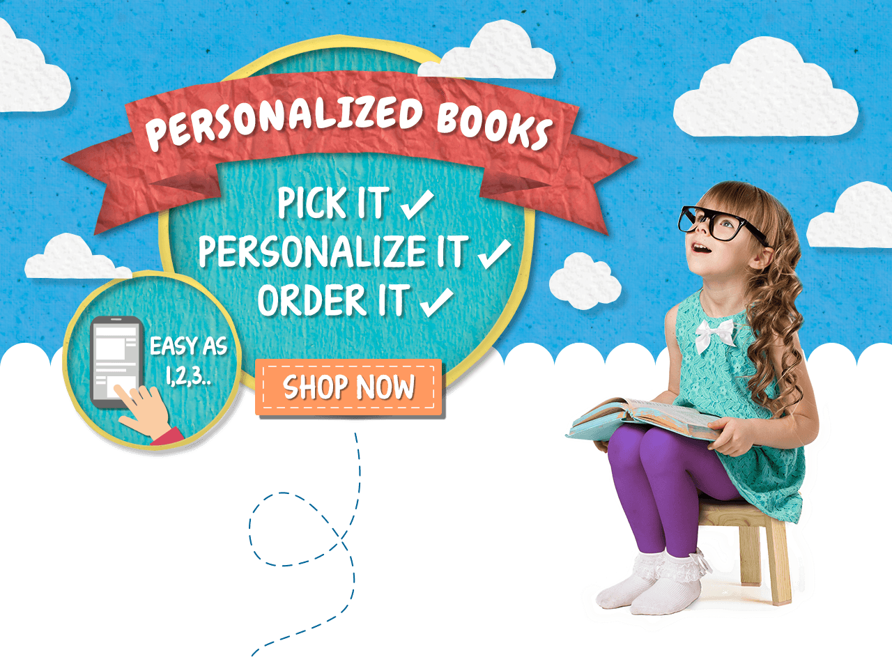 Personalized books starring your child