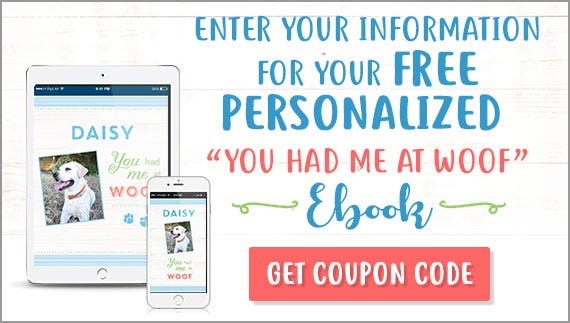 Enter your information for your FREE You Had Me At Woof eBook
